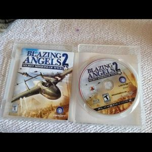 PS3 blazing angels 2 game